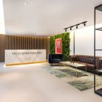 Office lobby reception