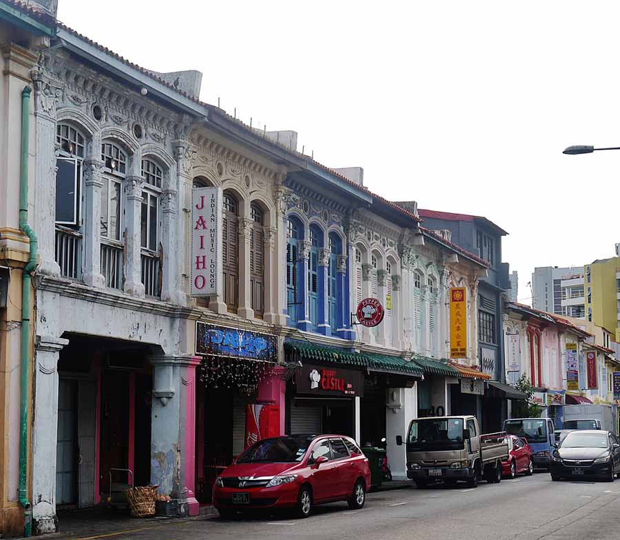 house or shophouse in a conservation area-Singapore Architect